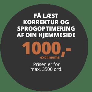 textup.dk korrektur